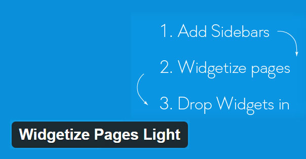 Preview for Widgetize Pages Light