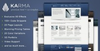 karma-website-template