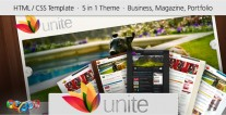 unite-website-template