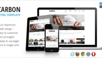 Carbon free HTML template