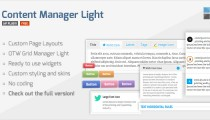Content Manager Light WordPress plugin