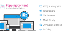 Popping Content for WordPress