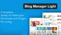Blog Manager Light WordPress plugin