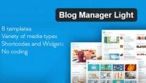Blog Manager Light WordPress plugin