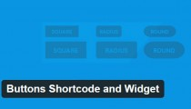 Buttons Shortcode and Widget
