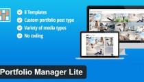 Portfolio Manager Lite WordPress plugin
