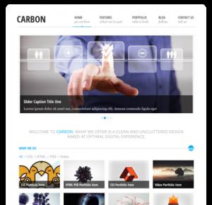 Carbon Site Template